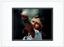 Bjorn Borg Autograph Photo Signed